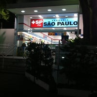 Photo taken at Drogaria São Paulo by Alexandre T. on 9/11/2011