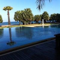 Photo taken at Ravindra Beach Resort & Spa by Baimai K. on 8/5/2011