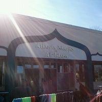 Photo taken at Atlanta Masjid Of Al-Islam by Jamil M. on 12/23/2011