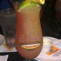 Photo taken at Babin's Seafood House by Alexx A. on 8/12/2011