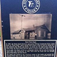 Photo taken at Hurst / Bell Station (TRE) by Julie D. on 12/26/2011
