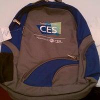 Photo taken at CES Press Lounge by Doug M. on 1/8/2012