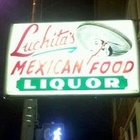 Photo taken at Luchita's Mexican Restaurant by W. Mark C. on 12/15/2011