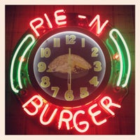 Photo taken at Pie 'n Burger by Suze on 5/9/2012