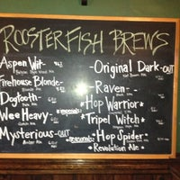Photo taken at Rooster Fish Brewing Tasting Room and Beer Garden by IConJohn on 8/24/2012