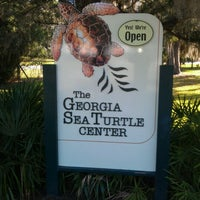 Photo taken at Georgia Sea Turtle Center by Mark W. on 11/22/2011