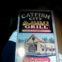 Photo taken at Catfish City & BBQ Grill by Elizabeth P. on 7/20/2012