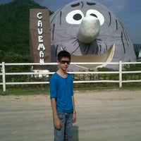 Photo taken at Baan Stoneage, Suan Pueng Resort by Gift S. on 11/5/2011