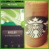 Photo taken at Starbucks by Jordan J. on 3/19/2012