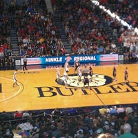Photo taken at Hinkle Fieldhouse by Alec D. on 3/10/2012