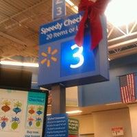Photo taken at Walmart Supercenter by Robert M. on 11/22/2011