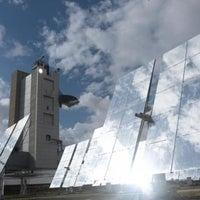 Photo taken at Canada Solar Tower Complex by Weizmann Institute on 12/8/2011