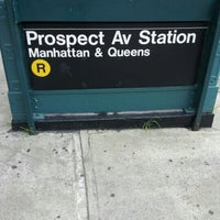 Photo taken at MTA Subway - Prospect Ave (R) by Rob J. on 9/3/2012