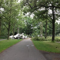 Photo taken at Zuiderpark by Lisa on 7/9/2012
