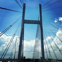Photo taken at Yokohama Bay Bridge by Maiki M. on 9/8/2012