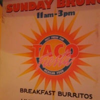 Photo taken at Taco Fiesta by Toure' A. on 11/17/2011