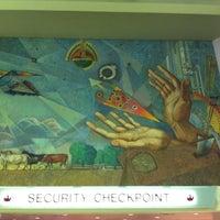 Photo taken at Terminal 2 Security Checkpoint by Katarzyna O. on 11/6/2011