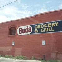 Photo taken at Buda Grocery and Grill by Joe on 6/14/2012