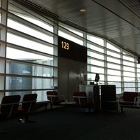 Photo taken at Gate 129 by Shawn M. on 11/7/2011