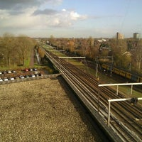 Photo taken at Station Utrecht Overvecht by Clarence T. on 12/2/2011