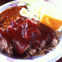 Photo taken at Hawi Chuckwagon Barbecue by Mike S. on 6/16/2012