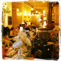 Photo taken at Coutume Café by Tim W. on 6/3/2012