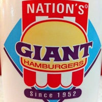 Photo taken at Nation's Giant Hamburgers by Mike F. on 3/14/2011