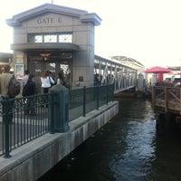 Photo taken at Gate E - Alameda/Oakland/Harbor Bay Ferry Dock by Zac B. on 6/17/2011