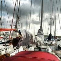 Photo taken at Spiekeroog Hafen by Sebastian H. on 8/26/2012
