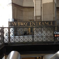 Photo taken at MTA Subway - Brooklyn Bridge/City Hall/Chambers St (4/5/6/J/Z) by Forrest on 7/22/2012
