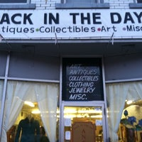 Photo taken at Back In The Day Antiques by alex h. on 3/1/2011
