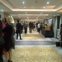 Photo taken at London Marriott Hotel Grosvenor Square by Pedro D. on 1/26/2012