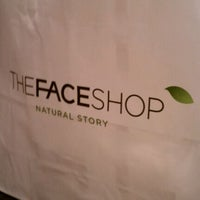 Photo taken at The Face Shop by Sherlie O. on 12/22/2011