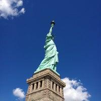 Photo taken at Liberty Island by Lilia M. on 9/9/2012