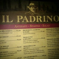 Photo taken at Il Padrino by Damiano T. on 5/16/2012