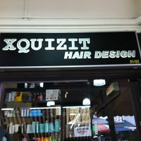 Photo taken at Xquizit Hair Design by Christie T. on 11/2/2011