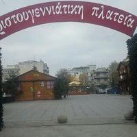 Photo taken at Πεζόδρομος Καλαμαριάς by Angelos C. on 12/12/2011
