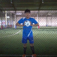 Photo taken at Global Futsal by Teguh S. on 1/14/2012