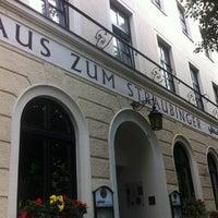 Photo taken at Wirtshaus zum Straubinger by Marcus H. on 7/31/2012