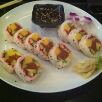 Photo taken at Blu Sushi by Yoanna on 10/27/2011