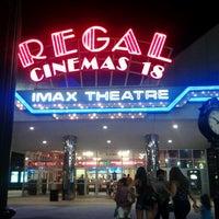 Снимок сделан в Regal Cinemas New Roc 18 IMAX & RPX пользователем George P. 6/23/2012