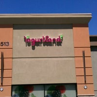 Photo taken at Yogurtland by Norma A. on 4/21/2012