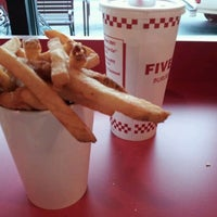 Photo taken at Five Guys by Mark E. on 1/10/2012