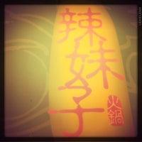 Photo taken at La Mei Zi Restaurant (辣妹子火锅) by Cherrie L. on 6/9/2011