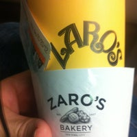 Photo taken at Zaro's Bakery by William on 1/7/2012