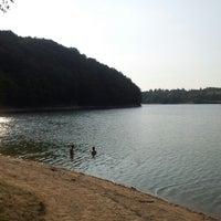 Photo taken at Garaško jezero by Miloš on 8/5/2012