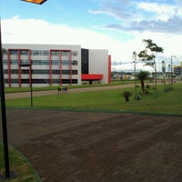 Photo taken at FAG - Faculdade Assis Gurgacz by Carlos T. on 2/14/2012