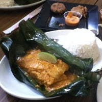 Photo taken at Lime Tree Southeast Asian Kitchen by Intan K. on 6/30/2012