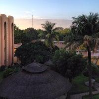 Photo taken at Azalai Hotel Independance Ouagadougou by kool__ on 8/13/2012
