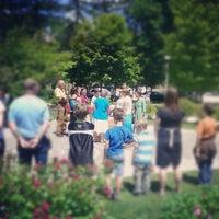 Photo taken at Newman Memorial Gardens by Ben W. on 6/21/2012